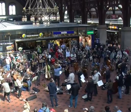 Flashmob Musique Copenhagen
