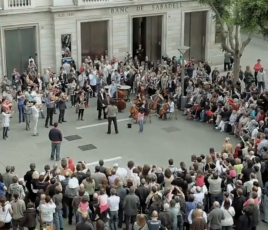 Flashmob musique Beethoven