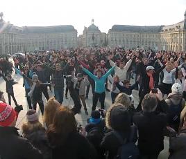 Flashmob Rock swing