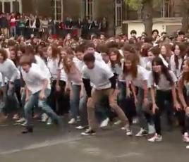 Flashmob Saint Genes