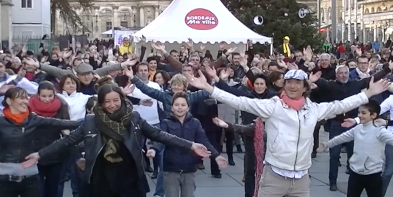 Danse Bordeaux - Flashmob Telethon Pey Berland
